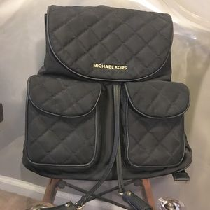 MICHAEL Michael Kors Quilted Backpack